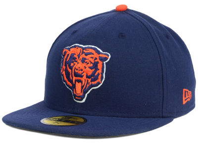 Chicago Bears New Era NFL 2012 On Field Classics 59FIFTY Cap