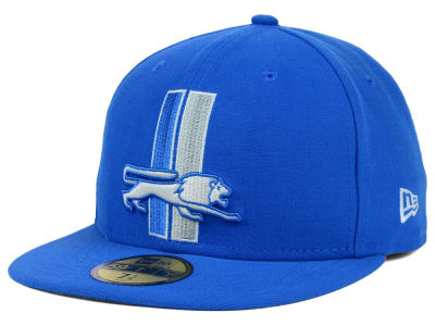 Detroit Lions New Era NFL 2012 On Field Classics 59FIFTY Cap