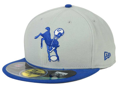 Indianapolis Colts New Era NFL 2012 On Field Classics 59FIFTY Cap