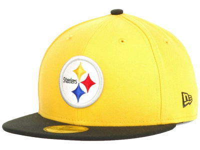 Pittsburgh Steelers New Era NFL 2012 On Field Classics 59FIFTY Cap