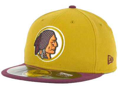 Washington Redskins New Era NFL 2012 On Field Classics 59FIFTY Cap