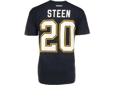 St. Louis Blues Alexander Steen Reebok NHL Men's Player T-Shirt