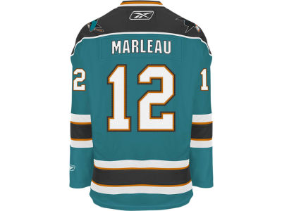 San Jose Sharks Patrick Marleau Reebok NHL Men's Premier Player Jersey