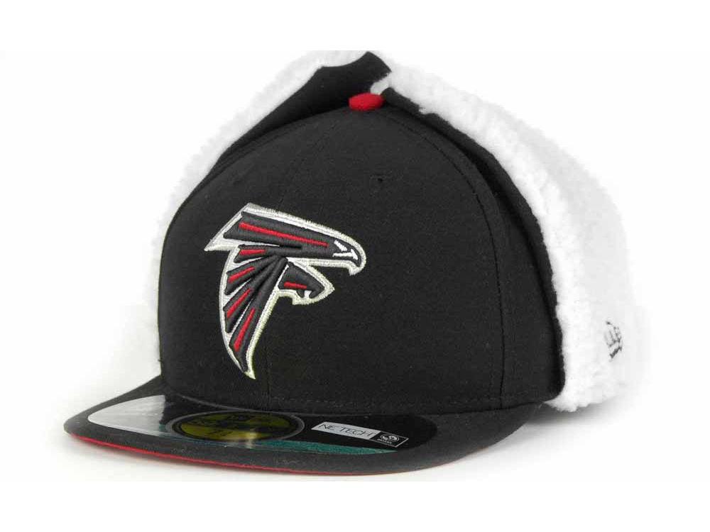 a474495a3 Atlanta Falcons New Era NFL On Field Dog Ear 59FIFTY Cap