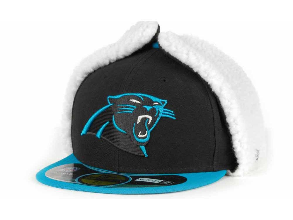 Carolina Panthers New Era NFL On Field Dog Ear 59FIFTY Cap  11eeb1c20d23