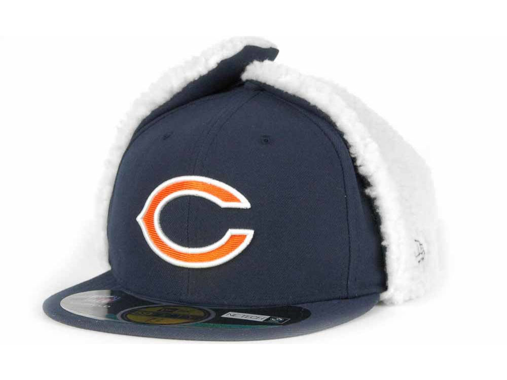 Chicago Bears New Era NFL On Field Dog Ear 59FIFTY Cap  bfe72de07dba