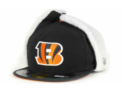 Cincinnati Bengals New Era NFL On Field Dog Ear 59FIFTY Cap