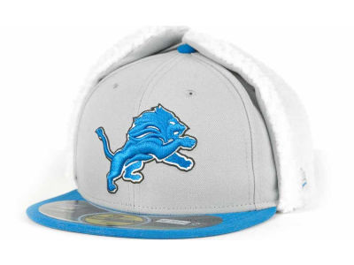 Detroit Lions New Era NFL On Field Dog Ear 59FIFTY Cap