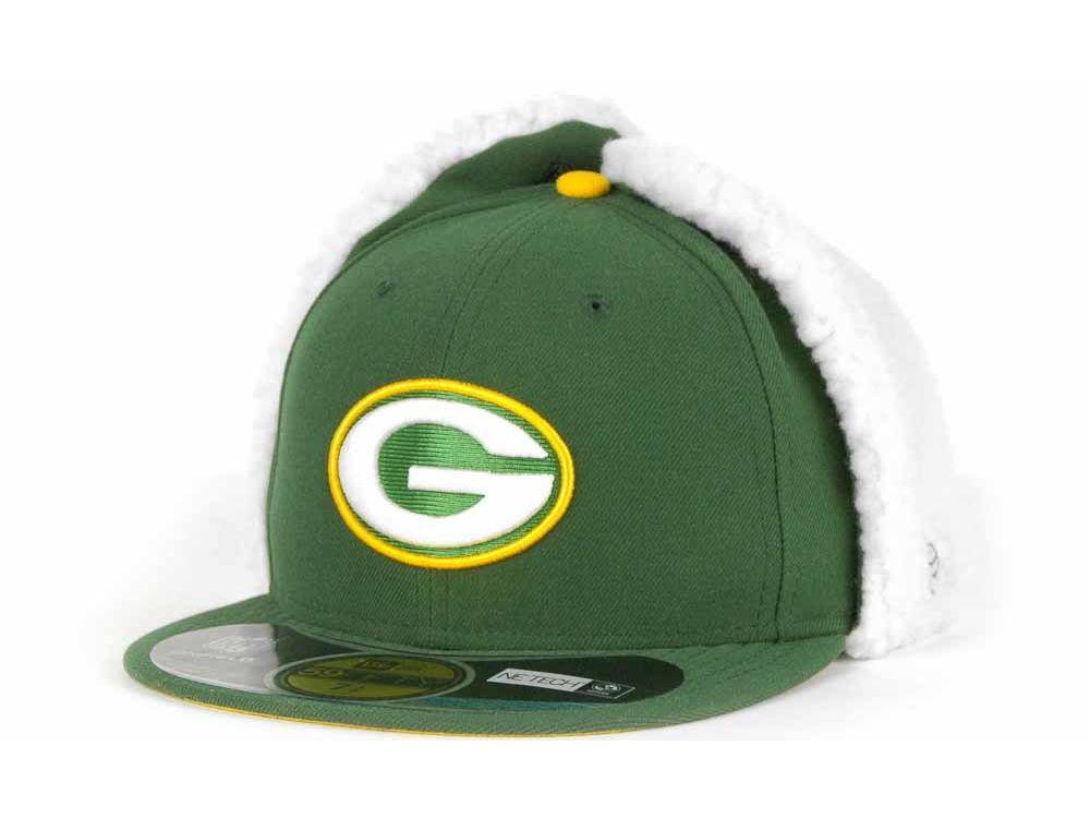 Green Bay Packers New Era NFL On Field Dog Ear 59FIFTY Cap  b17cb6193