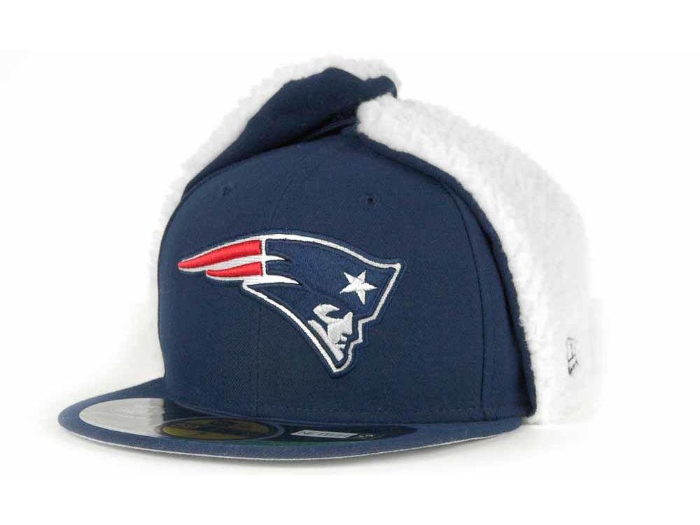 542a175966f New England Patriots New Era NFL On Field Dog Ear 59FIFTY Cap
