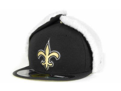 New Orleans Saints New Era NFL On Field Dog Ear 59FIFTY Cap