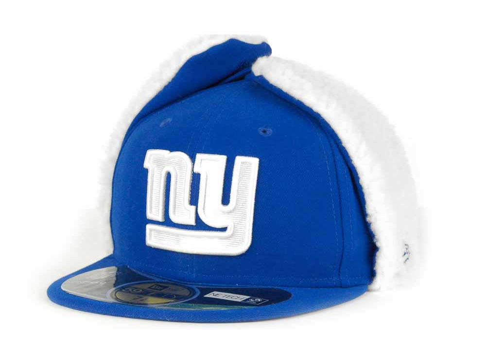 4af6a1ad6 New York Giants New Era NFL On Field Dog Ear 59FIFTY Cap
