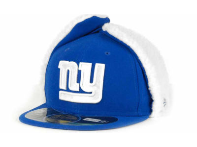 New York Giants New Era NFL On Field Dog Ear 59FIFTY Cap