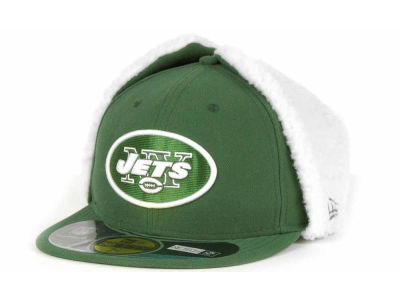 New York Jets New Era NFL On Field Dog Ear 59FIFTY Cap