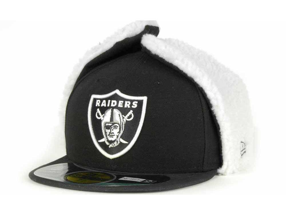 5c58097bc3c Oakland Raiders New Era NFL On Field Dog Ear 59FIFTY Cap