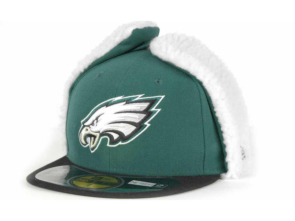 63b819a53d6 Philadelphia Eagles New Era NFL On Field Dog Ear 59FIFTY Cap