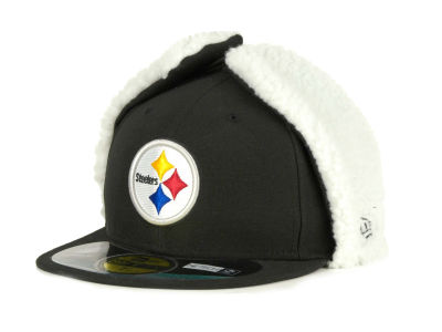 Pittsburgh Steelers New Era NFL On Field Dog Ear 59FIFTY Cap