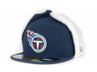 Tennessee Titans New Era NFL On Field Dog Ear 59FIFTY Cap