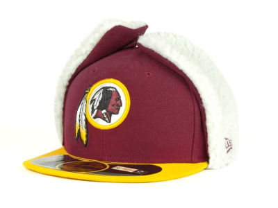 Washington Redskins New Era NFL On Field Dog Ear 59FIFTY Cap
