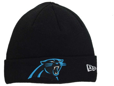 Carolina Panthers New Era NFL Basic Cuff Knit