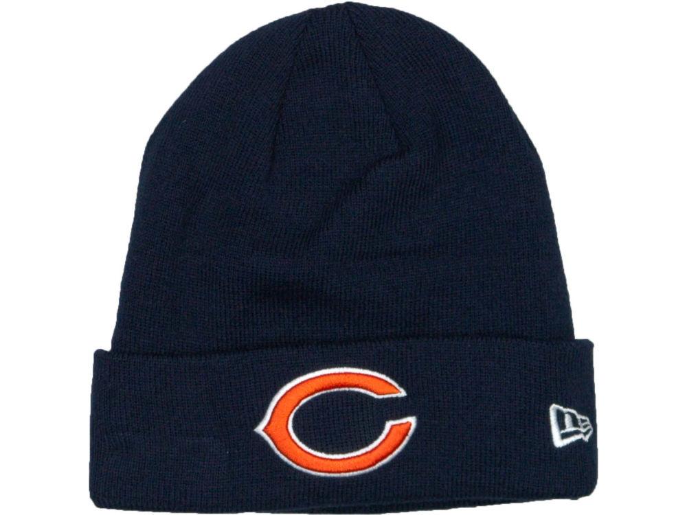 a41b7aedf9c Chicago Bears New Era NFL Basic Cuff Knit