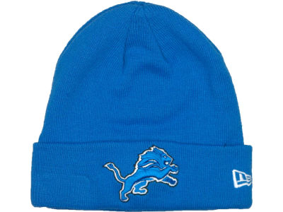 Detroit Lions New Era NFL Basic Cuff Knit