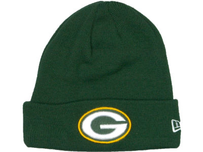 Green Bay Packers New Era NFL Basic Cuff Knit