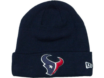Houston Texans New Era NFL Basic Cuff Knit