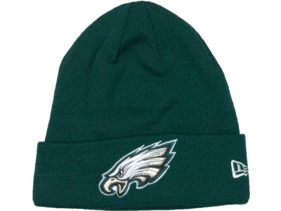 Philadelphia Eagles New Era NFL Basic Cuff Knit