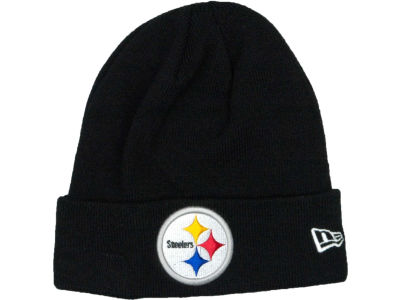 Pittsburgh Steelers New Era NFL Basic Cuff Knit