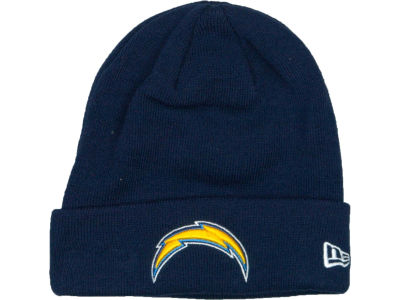 San Diego Chargers New Era NFL Basic Cuff Knit