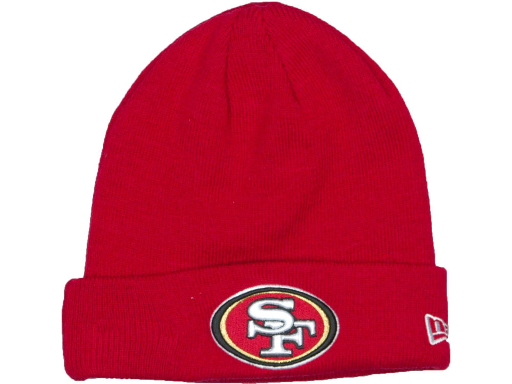 347c4a481d2 San Francisco 49ers New Era NFL Basic Cuff Knit