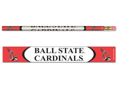 Ball State Cardinals 6-pack Pencils