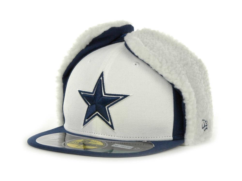 48f0c089afc Dallas Cowboys New Era NFL On Field Dog Ear 59FIFTY Cap