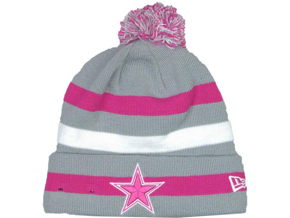 25a913dec Dallas Cowboys New Era NFL Breast Cancer Awareness Knit Cap