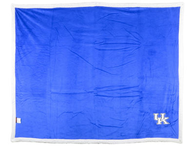Kentucky Wildcats Logo Brands Sherpa Blanket