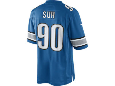 Detroit Lions Ndamukong Suh Nike NFL CN Limited Team Jersey
