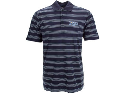 Tampa Bay Rays Nike MLB Men's Tech Core Stripe Polo Shirt