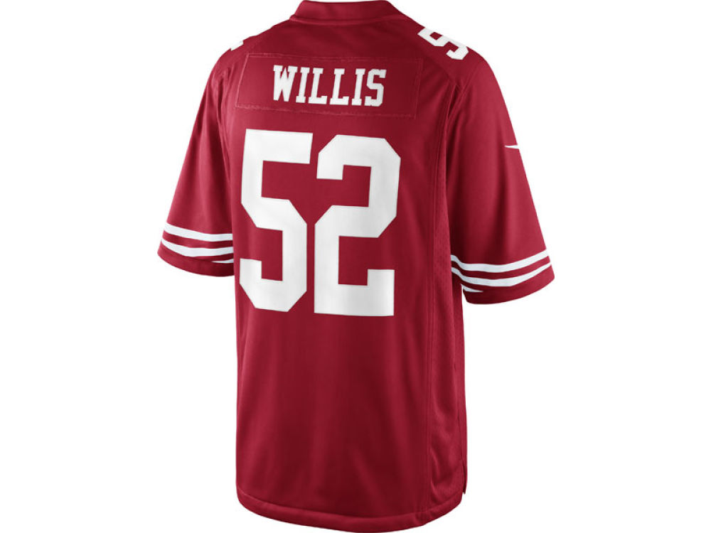 San Francisco 49ers Patrick Willis Nike NFL Men s Limited Jersey ... 0e66bc91a