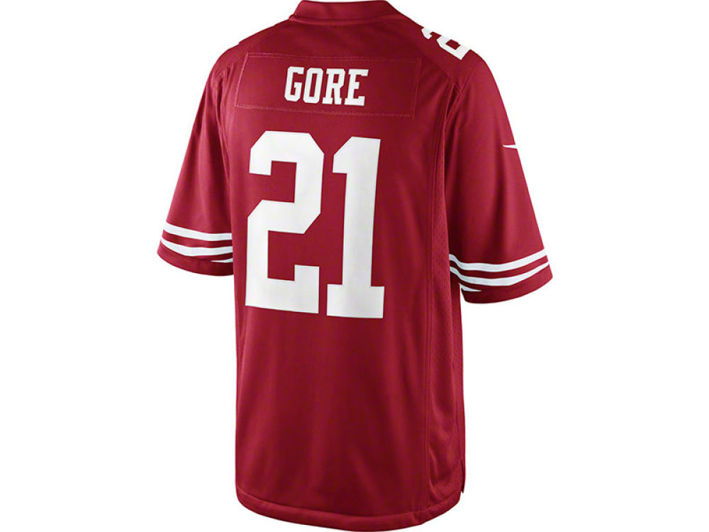 47316787a San Francisco 49ers Frank Gore Nike NFL Men s Limited Jersey