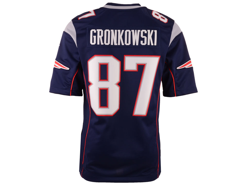 9a86b8172 New England Patriots Rob Gronkowski Nike NFL Men s Limited Jersey ...
