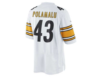 Pittsburgh Steelers Troy Polamalu Nike NFL Men's Limited Jersey