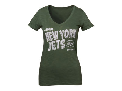 New York Jets '47 NFL Womens V-Neck Scrum T-Shirt
