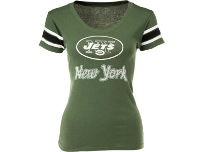 New York Jets '47 NFL Wmns Off Campus Scoop Neck T-Shirt
