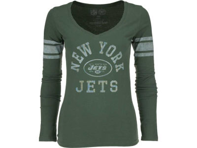 New York Jets '47 NFL Womens Homerun Long Sleeve T-Shirt