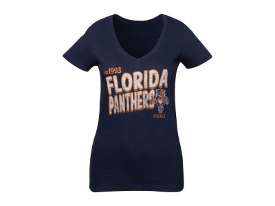 Florida Panthers '47 NHL Womens Logo V-Neck Scrum T-Shirt