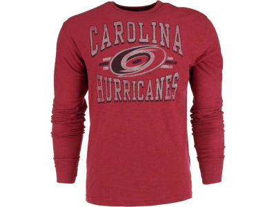Carolina Hurricanes '47 NHL Logo Scrum Long Sleeve T-Shirt