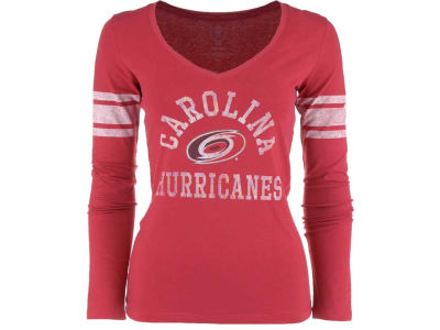 Carolina Hurricanes '47 NHL Womens Homerun Long Sleeve T-Shirt