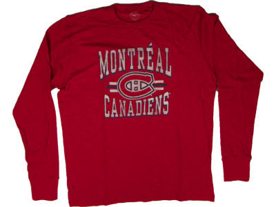 Montreal Canadiens NHL CN Logo Scrum Long Sleeve T-Shirt