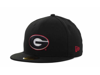 Georgia Bulldogs New Era NCAA AC Stock 59FIFTY Cap